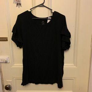 Aerie black shirt - size medium